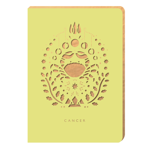 Cancer Notebook - Zodiac Collection