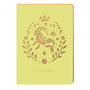 Capricorn Notebook - Zodiac Collection