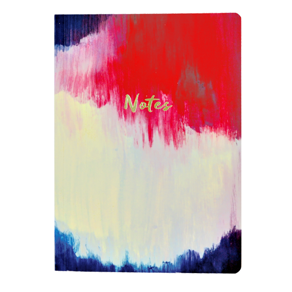 Brushstroke A5 Notebook