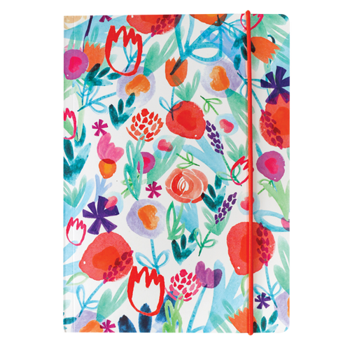 Spring floral A5 Notebook