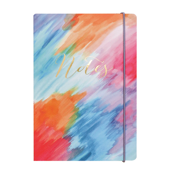 Colourwash A5 Notebook
