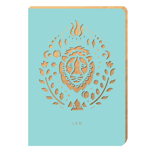 Leo Notebook - Zodiac Collection