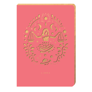Libra Notebook - Zodiac Collection
