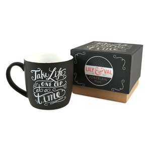Boxed Mug - Take life one cup at a time