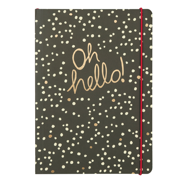 Oh Hello A5 Notebook