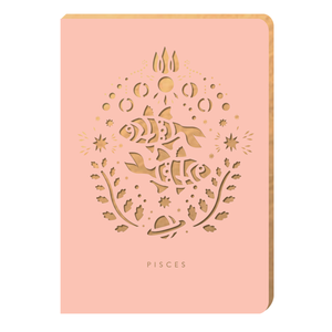 Pisces Notebook - Zodiac Collection