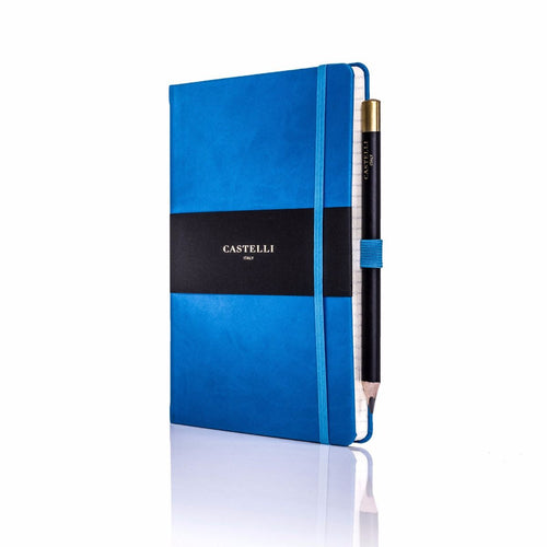 Castelli - Tucson Ivory Notebook French Blue
