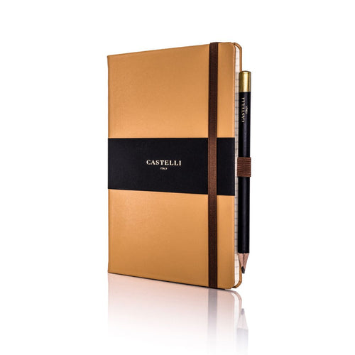Castelli - Cordoba Leather Notebook Tan