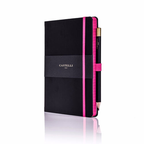 Castelli - Tucson Edge A5 Notebook Pink