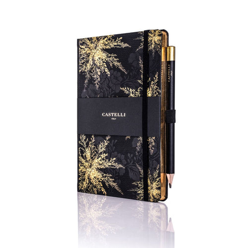 Castelli - Midnight Floral Notebook - Heather