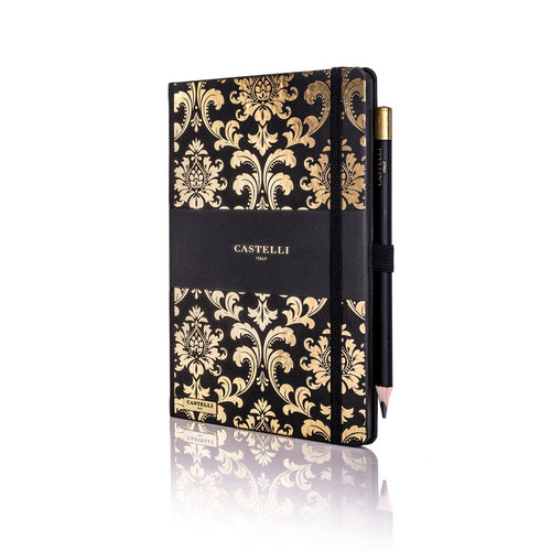 Castelli - Baroque Notebook Gold