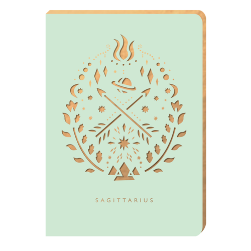 Sagittarius Notebook - Zodiac Collection