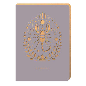 Scorpio Notebook - Zodiac Collection