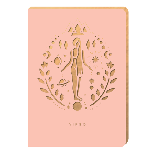 Virgo Notebook - Zodiac Collection