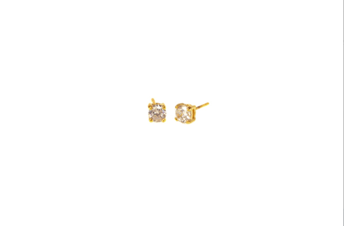 5mm Round CZ Earring - Refinery