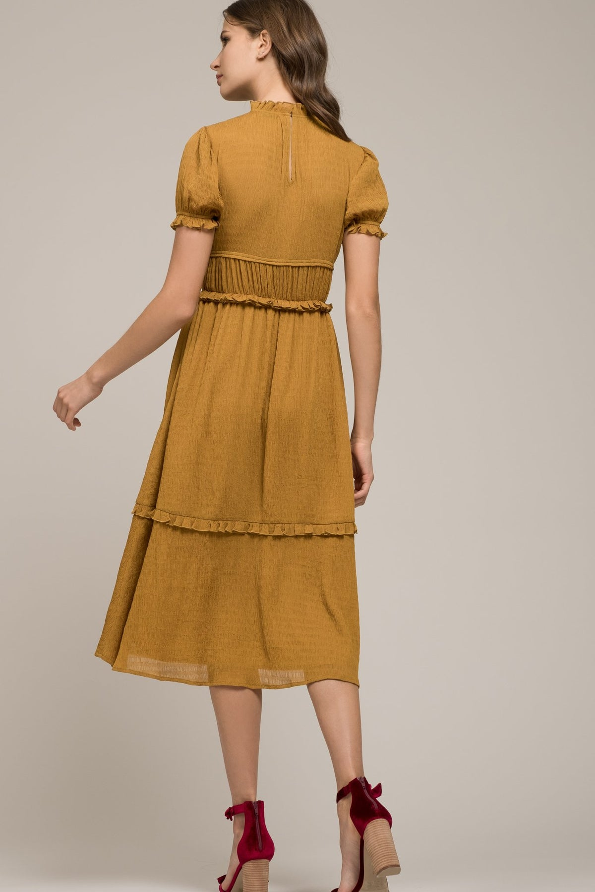 Short Sleeve Maxi Dress - Refinery