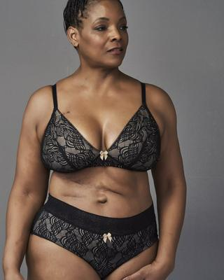 Rachel Pocketed Wirefree Bra - Refinery