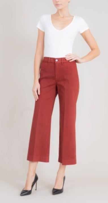 Janel High Rise Wide Leg - Refinery