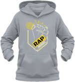 sweat enfant capuche-rap music-maître Gims-Soprano-gris chiné-vêtements-funriesone