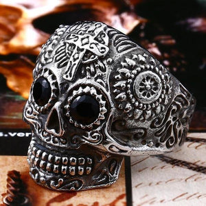 Chevalière Skull-Bague-white with black eye-11-FunriesOne