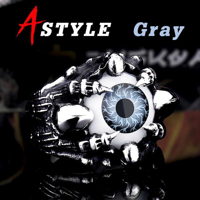 Devil's Eye-bijoux oeil-gray colour-7-FunriesOne