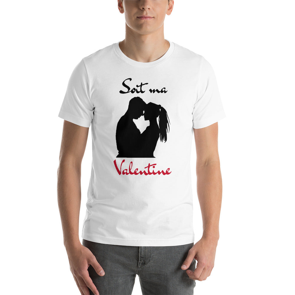 "T-shirt Homme ""Soit ma Valentine"""