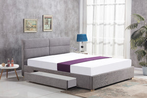 Mayfair Grey Drawer Bed