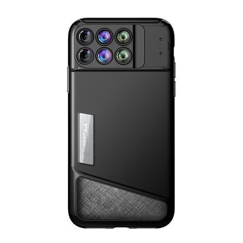 ROCK 6-in-1 Camera Lens Kit Case for iPhone