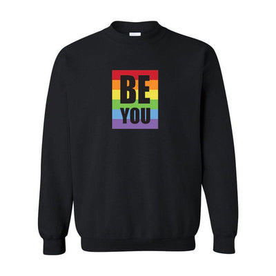Be You Pride Adult Crewneck