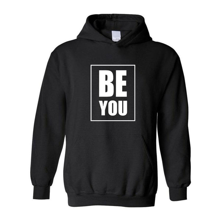 Be You, Adult Hoodie, Small, Black