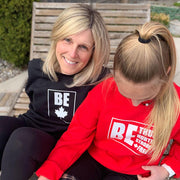 Be (Maple Leaf) Adult Crewneck