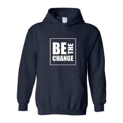 Be The Chance, Adult Hoodie, Small, Navy