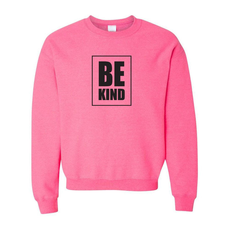Be Kind PINK Adult Crewneck