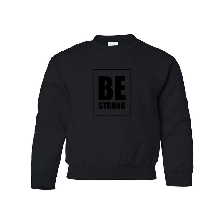 Be Strong Youth Crewneck