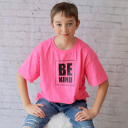 Be Kind PINK Youth T-Shirt