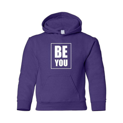 Be You, Adult Hoodie, M, Purple