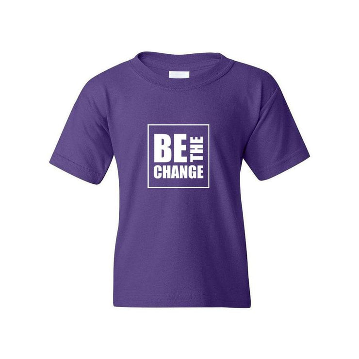 Be The Change, Youth T-Shirt, M