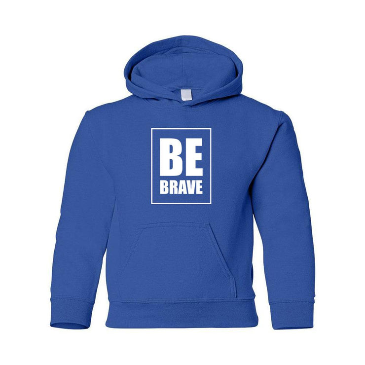 Be Brave Youth Hoodie