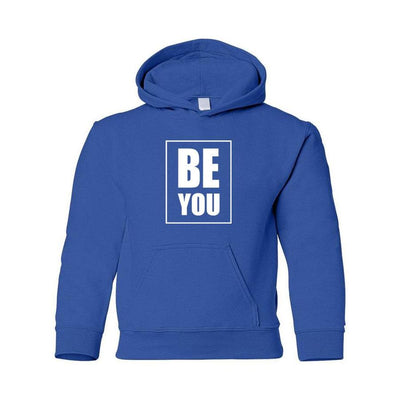 Be You, Youth Hoodie, XS, Royal