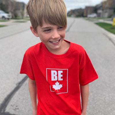 Be (Maple Leaf) Youth T-Shirt