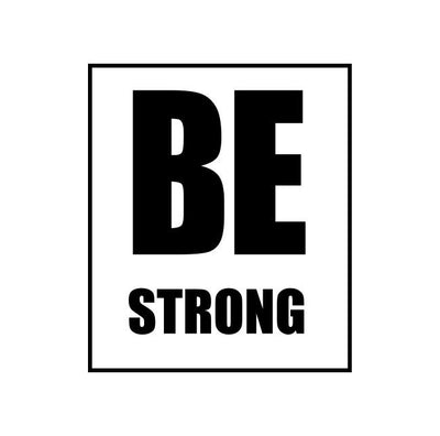 Be Strong Unisex 3/4 Sleeve T