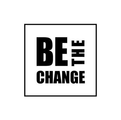 Be The Change Unisex 3/4 Sleeve T