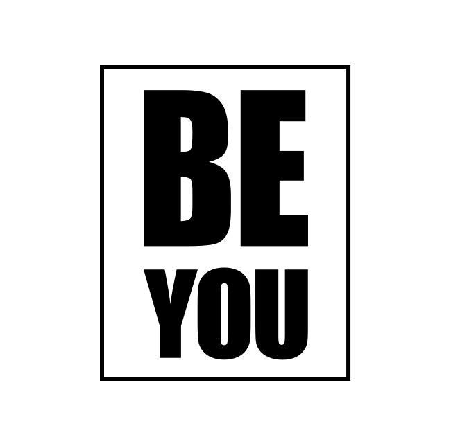 Be You Premium Adult T