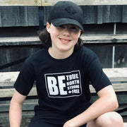 Be True North Strong Free Youth T-Shirt