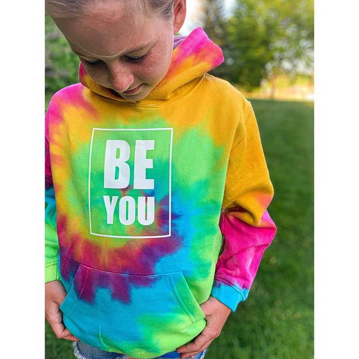Be You, Youth Hoodie, L