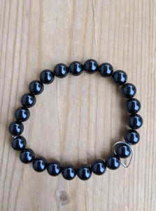 Onyx with Teardrop Floater