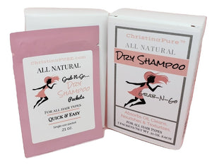 All Natural Dry Shampoo Packets - ChristinaPURE