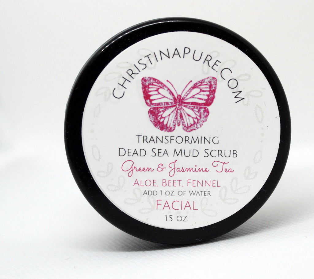 Detoxing Dead Sea Mud Mask - ChristinaPURE