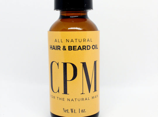 Hair and Beard Oil for Men - ChristinaPURE