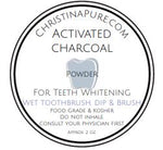 Activated Charcoal Powder - ChristinaPURE